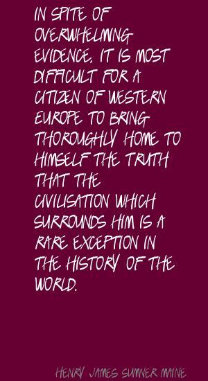 Henry James Sumner Maine's quote #6