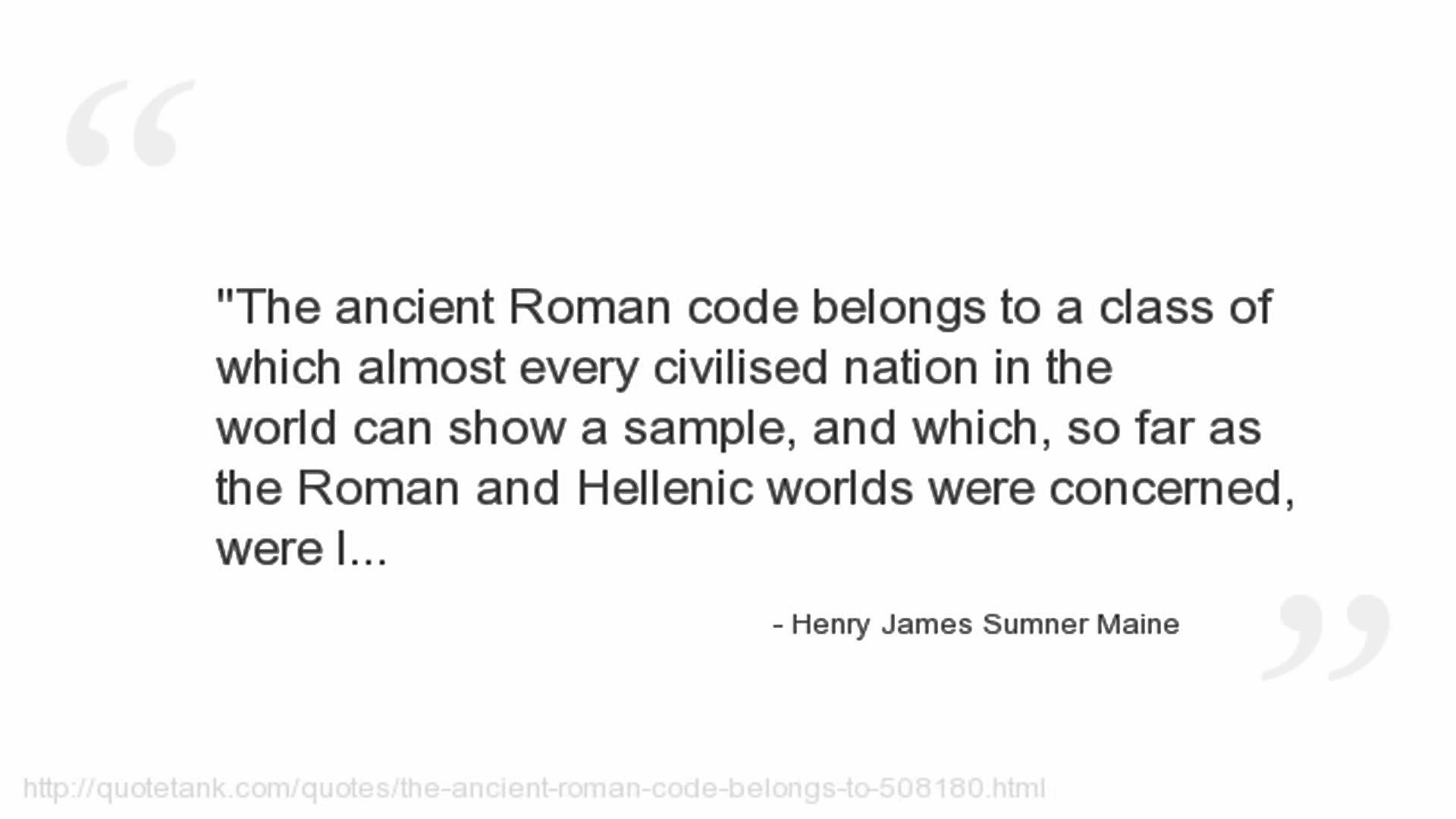 Henry James Sumner Maine's quote #2