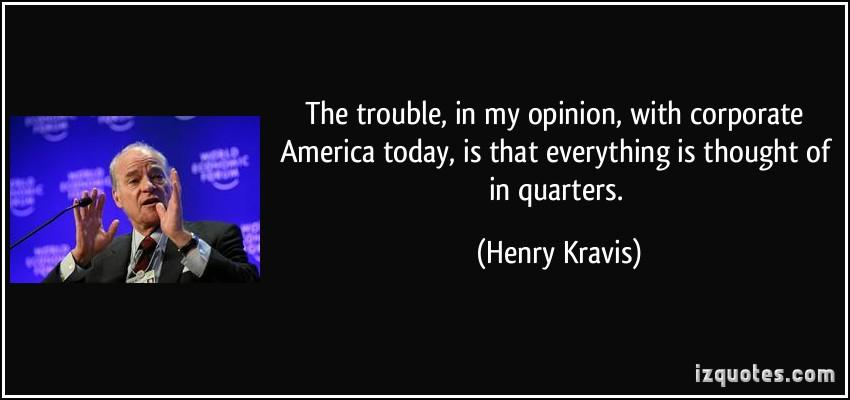 Henry Kravis's quote #2