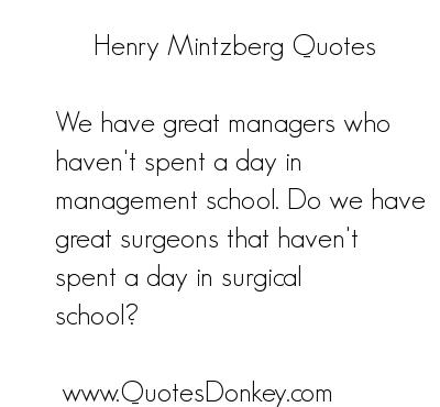 Henry Mintzberg's quote #4