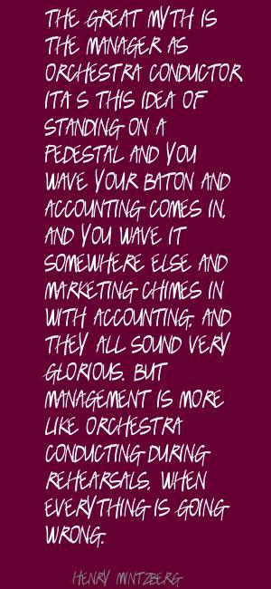 Henry Mintzberg's quote #1