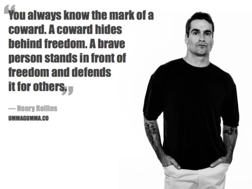 Henry Rollins's quote #7