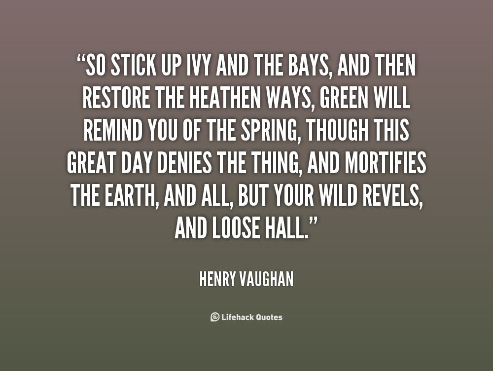 Henry Vaughan's quote #3