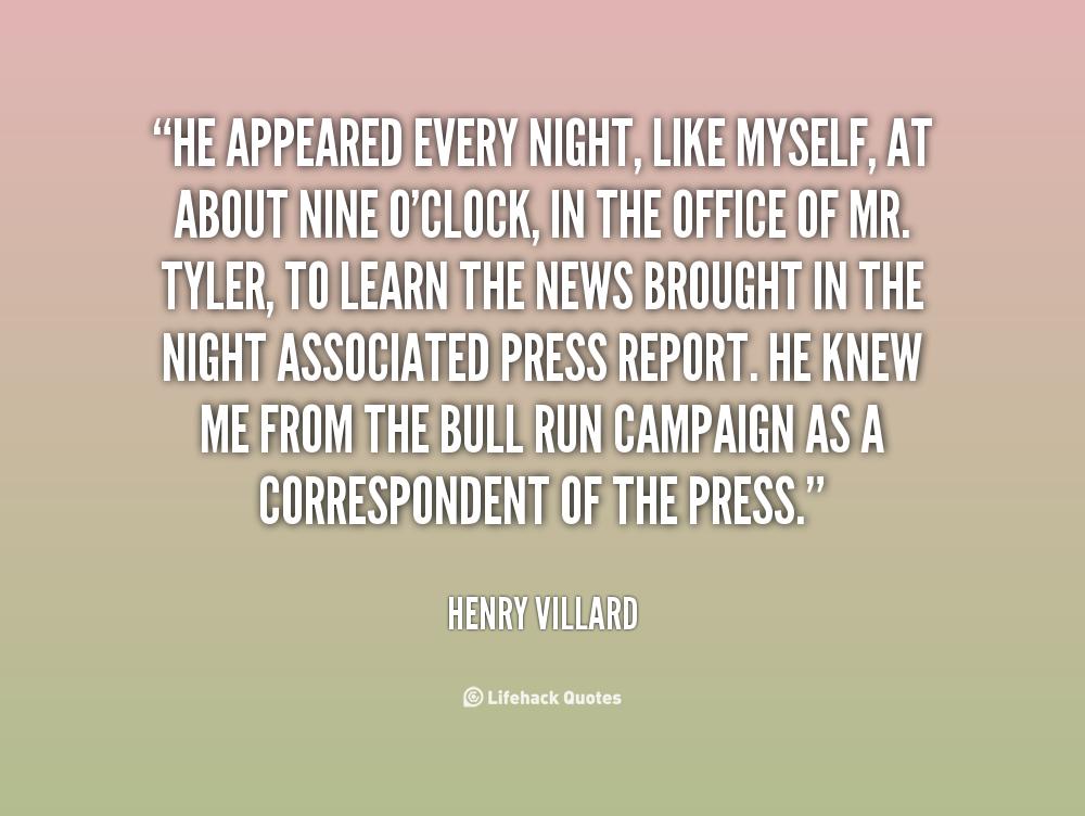 Henry Villard's quote #3