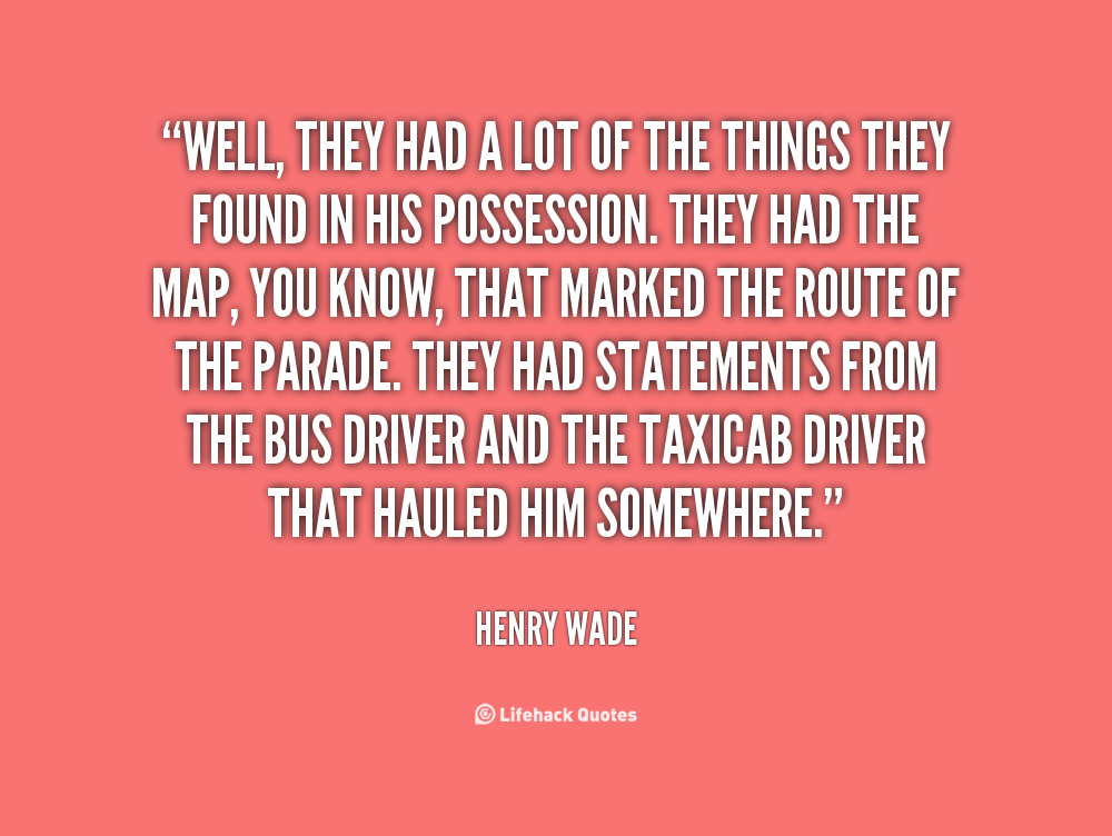 Henry Wade's quote #3