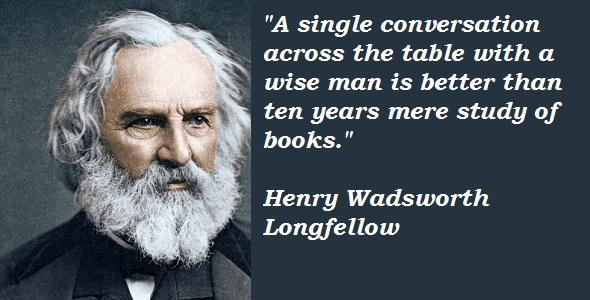 Henry Wadsworth Longfellow's quote #6