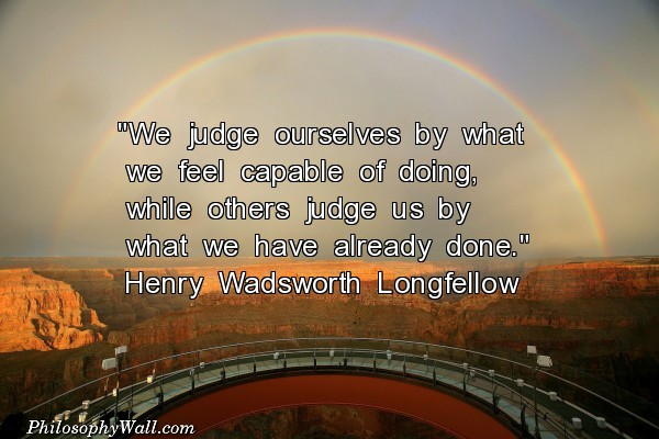 Henry Wadsworth Longfellow's quote