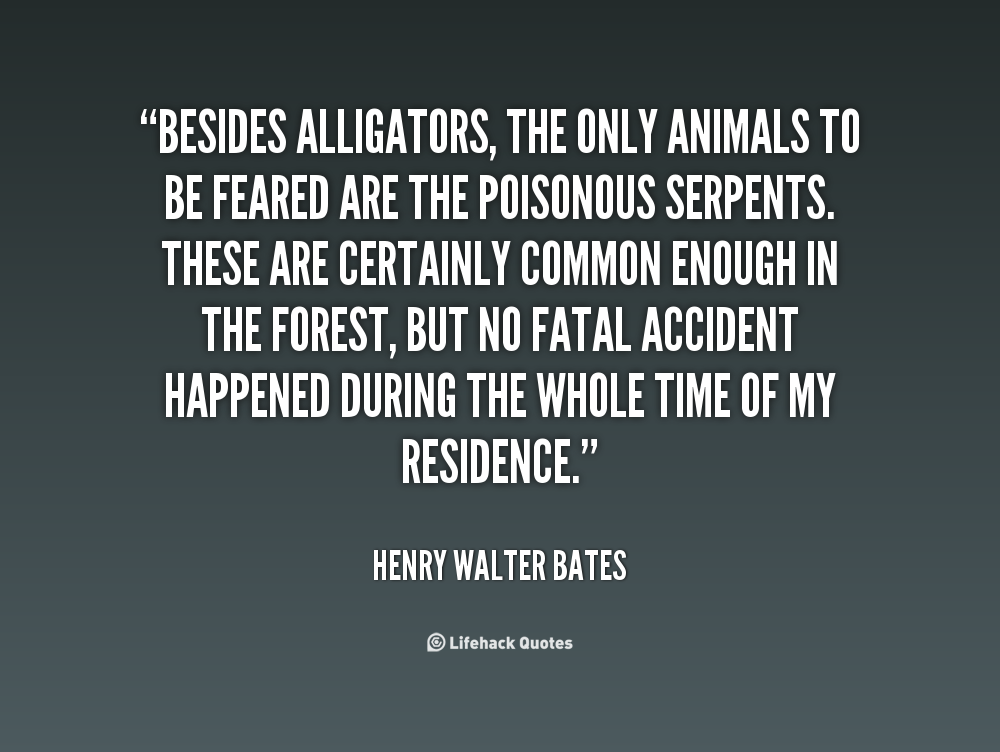 Henry Walter Bates's quote #2