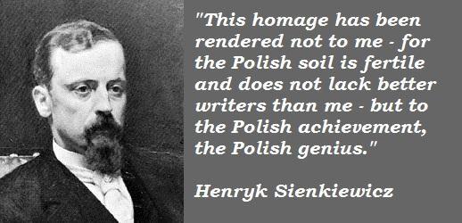Henryk Sienkiewicz's quote #4