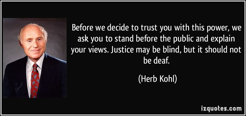 Herb Kohl's quote #3