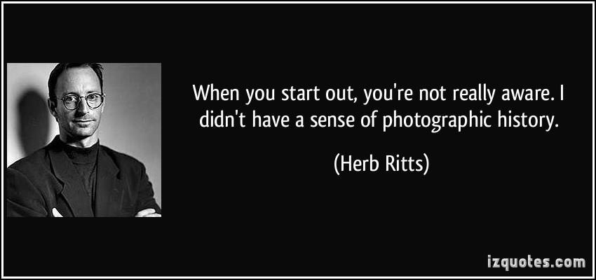 Herb Ritts's quote #1