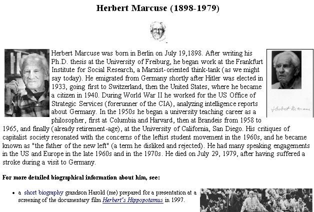 Herbert Marcuse's quote