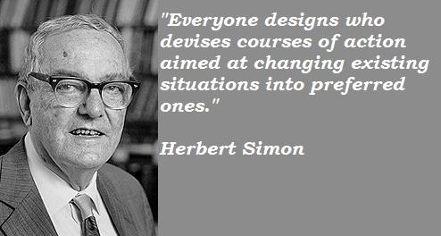 Herbert Simon's quote #1