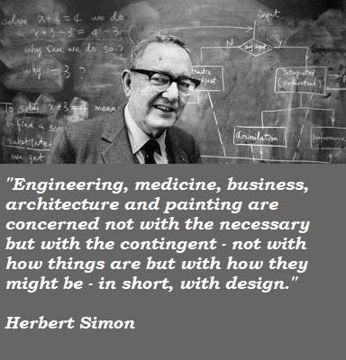 Herbert Simon's quote #5