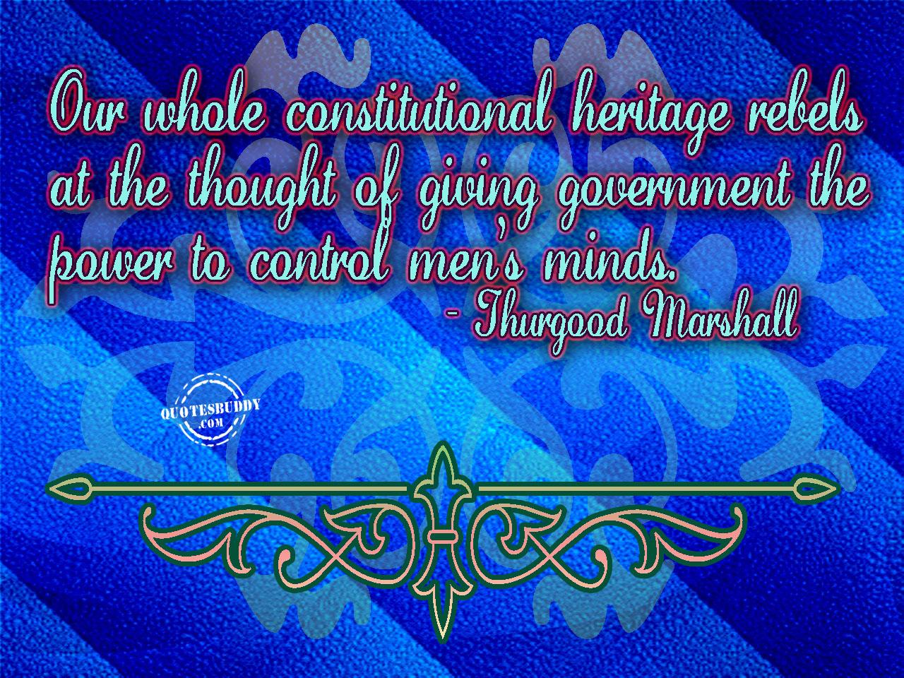 Heritage quote #1