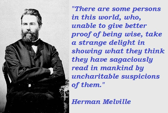 Herman Melville's quote #1