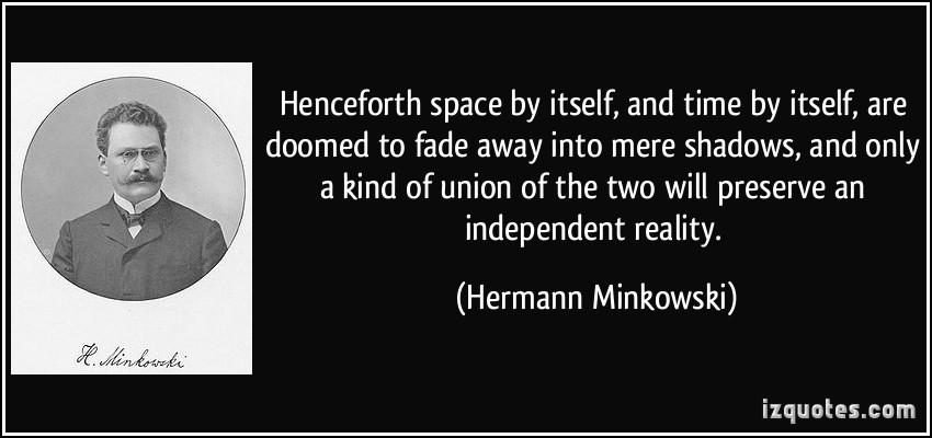 Hermann Minkowski's quote #1