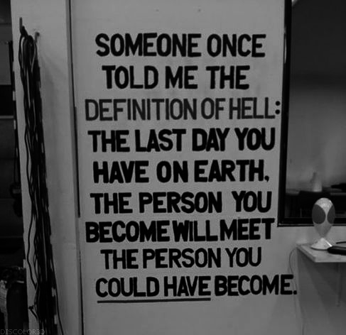 Hiatus quote #1