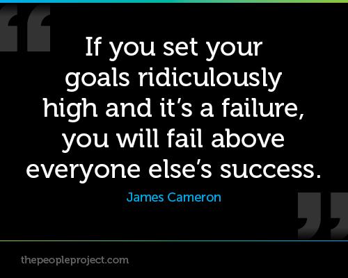 High Goals quote #1