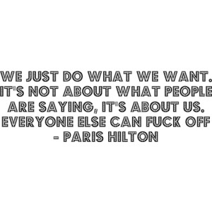 Hilton quote #1