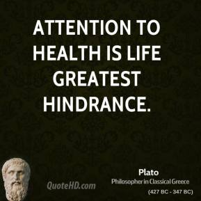 Hindrance quote #1