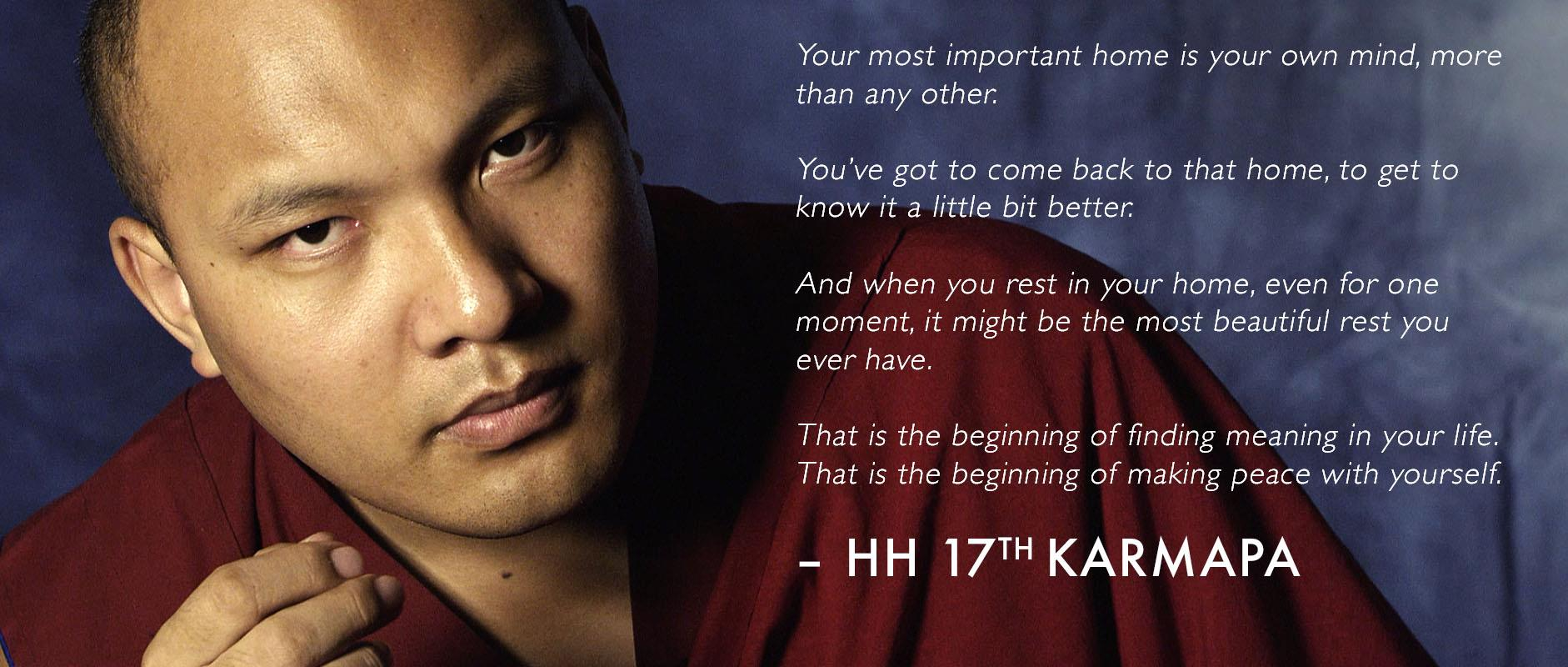His Holiness quote #2