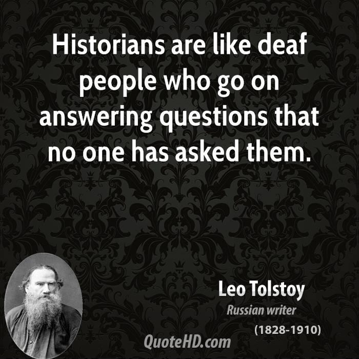 Historians quote #1
