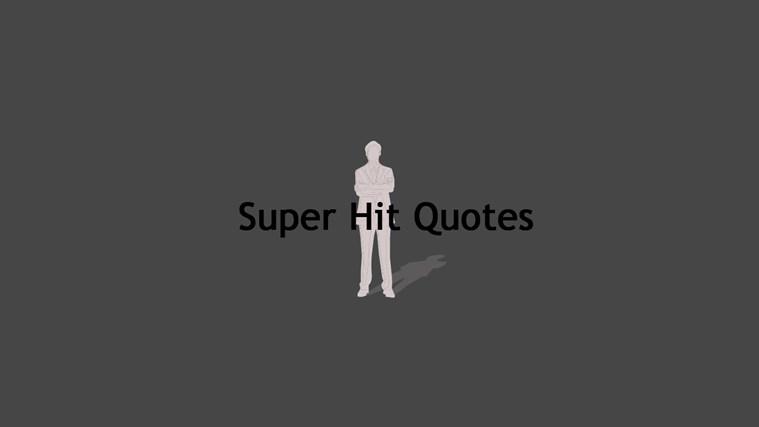 Hit quote #2