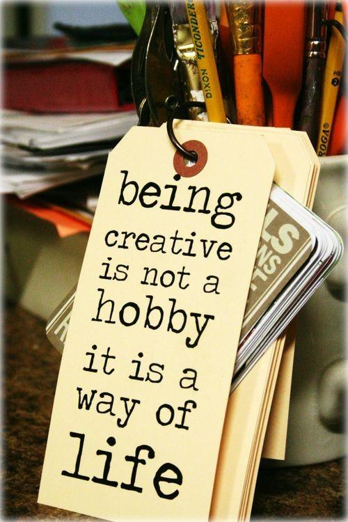 Hobby quote