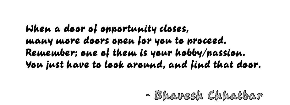 Hobby quote #2