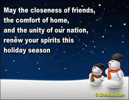 Holiday Season quote #2