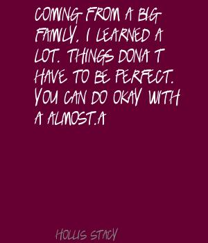 Hollis Stacy's quote #6