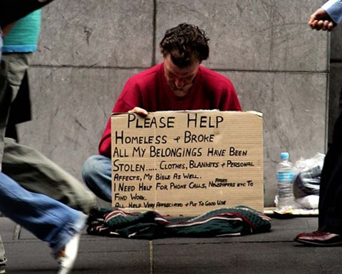 Homeless quote #1