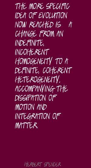 Homogeneity quote
