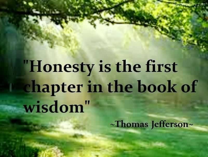 Honest quote #5