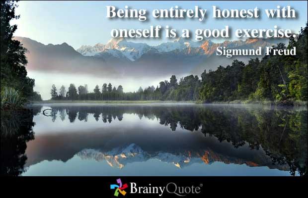 Honest quote #7