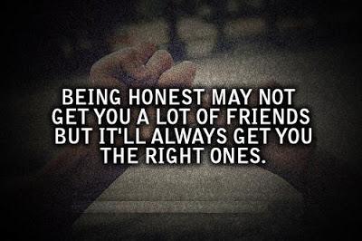 Honestly quote #2