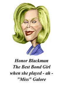 Honor Blackman's quote #2