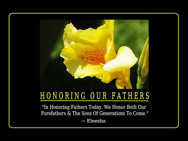 Honoring quote #1