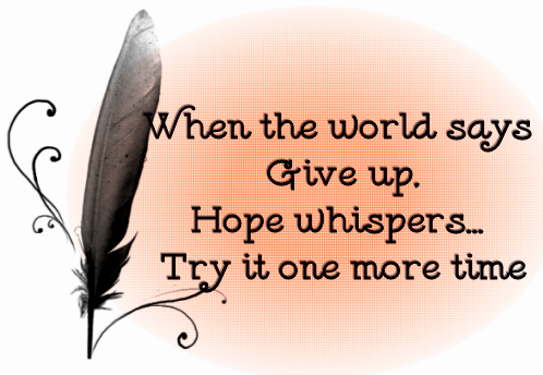 Hopes quote #1