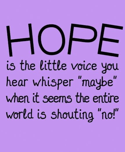 Hopes quote #6