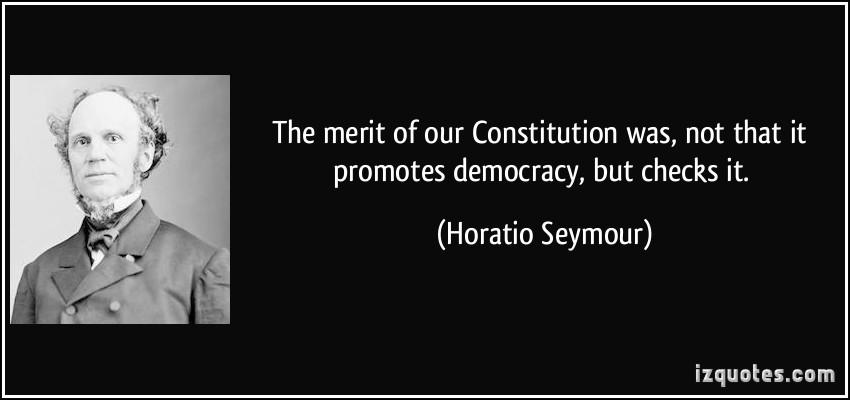 Horatio Seymour's quote #1
