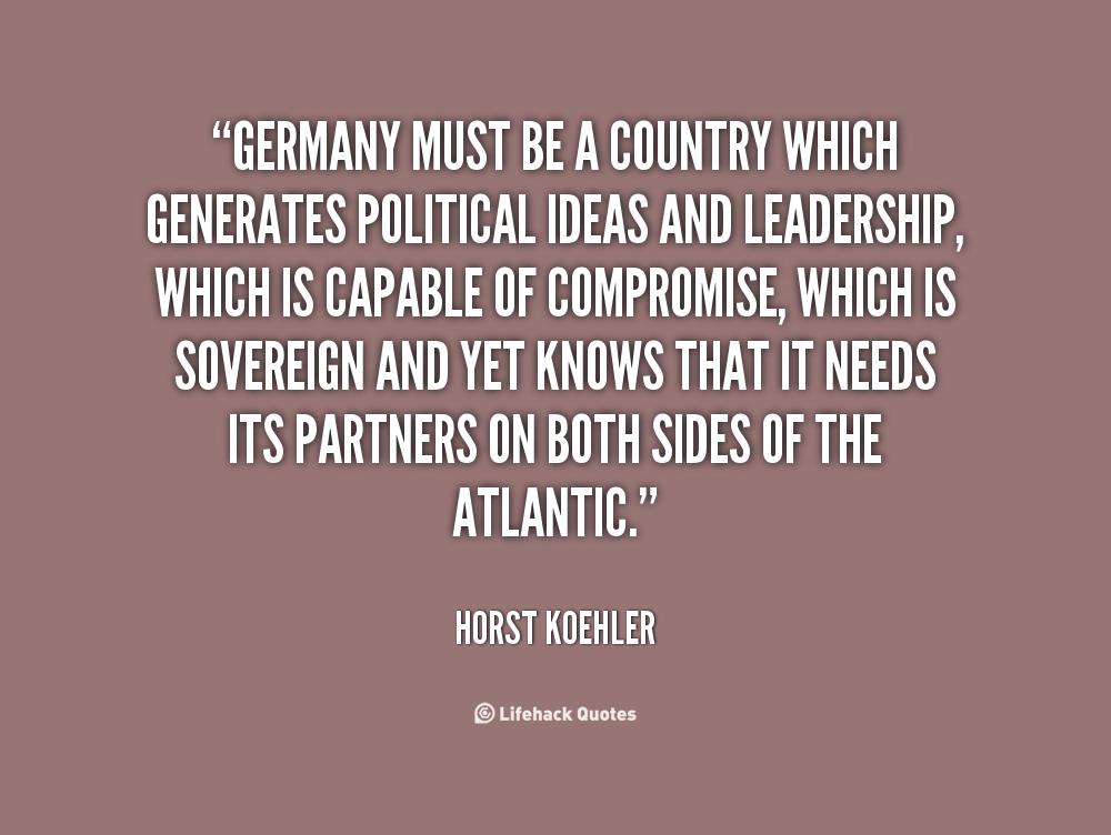 Horst Koehler's quote #2