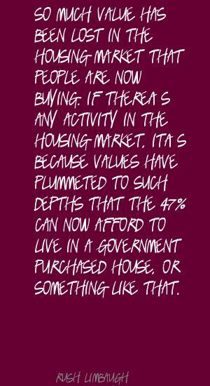 Housing Market quote #2