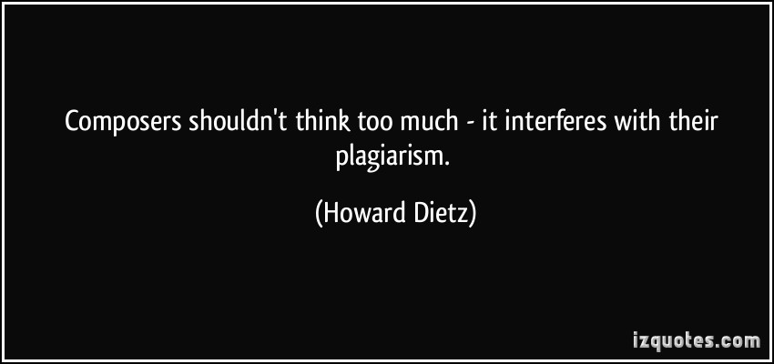 Howard Dietz's quote #2