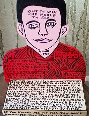Howard Finster Quotes by Howard Finster Like Success