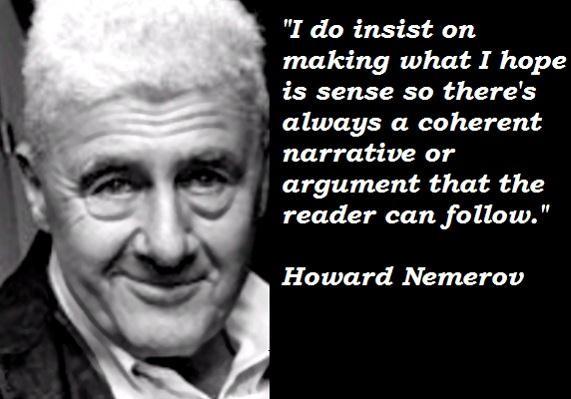 Howard Nemerov's quote #3