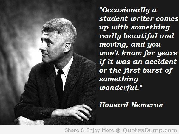 Howard Nemerov's quote #7