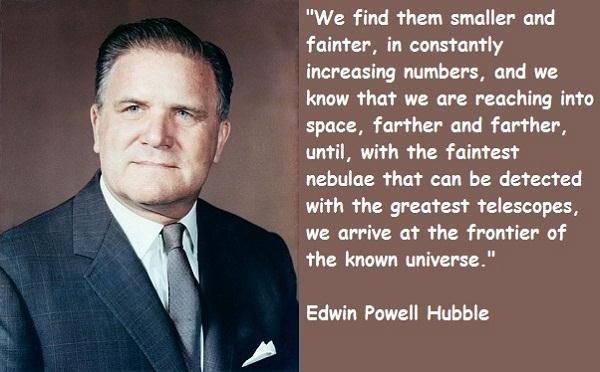 Hubble quote #2