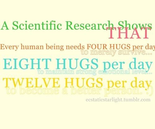 Hug quote #4